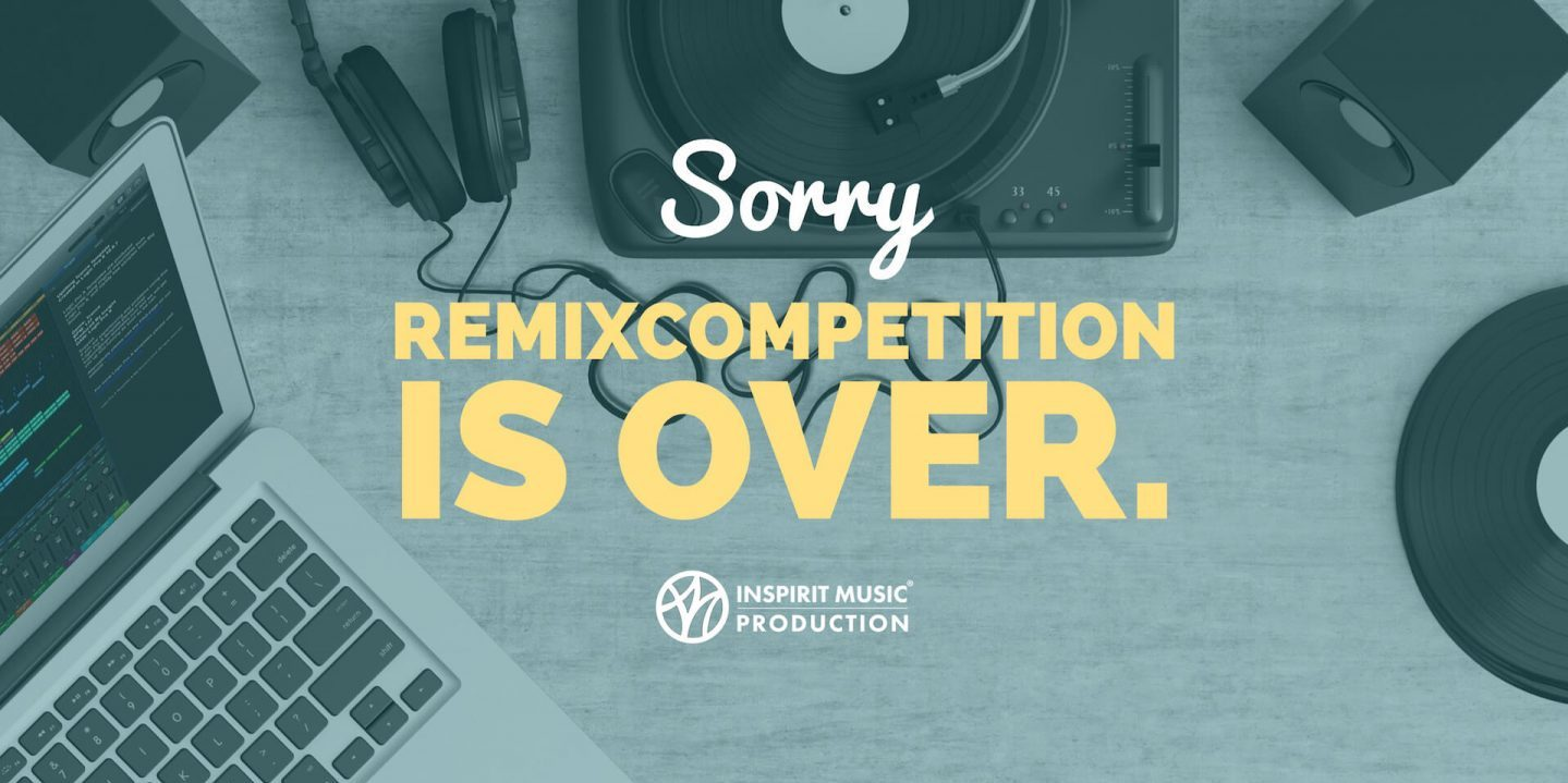 Remixcompetition Vorbei
