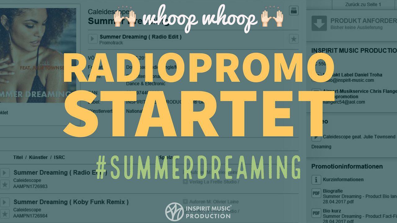 Radiopromotion Startet Mit #summerdreaming