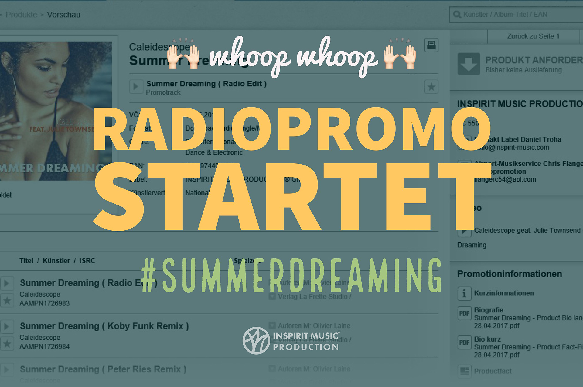 Radiopromotion Startet Mit #summerdreaming